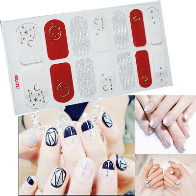 3D Nail Art Wraps Stickers Manicure Tips Creative Decal DIY Sticker Fashion