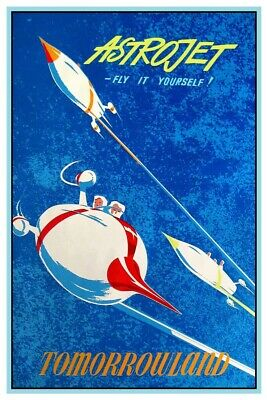 Disney Astrojets Tomorrowland - Collector Poster 4 Different Sizes (B2G1 Free!!)