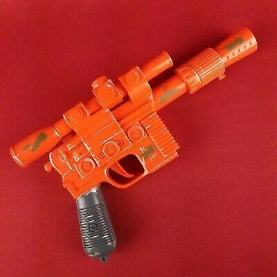 "Vintage 1997 Star Wars 11.5"" Blaster with Sound Solo Tiger Electronics Lucas"