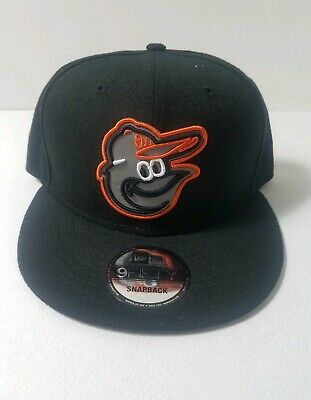 new concept 520dd 843fe Baltimore Orioles New Era MLB Reflective Goldie Logo 9FIFTY Snapback Cap Hat  NWT