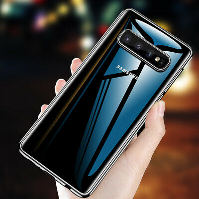 Ultra Thin Clear TPU Hard Back Case Cover For Samsung Galaxy A70 A40 S10 S8 Plus