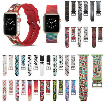 38/42/40/44/m IMD Silicone Loop iWatch Band Strap For Apple Watch Series 4 3 2 1