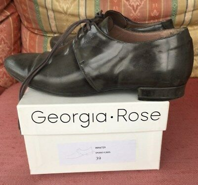 Richelieu Rose Derbies P Georgia À Lacets 39 Vernies Chaussures bf6gvYyI7