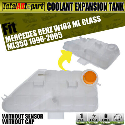 For Mercedes W163 ML320 Engine Coolant Recovery Expansion Tank Febi Bilstein
