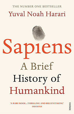 Sapiens: A Brief History of Humankind By Sapiens By Yuval Noah Harari Paperback