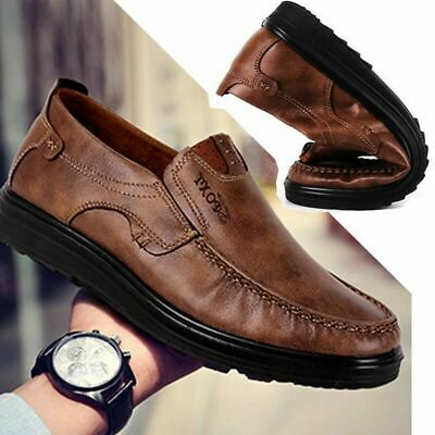 Fashion Men's Suede Leather Shoes Summer Antiskid Loafers Moccasins Breathable