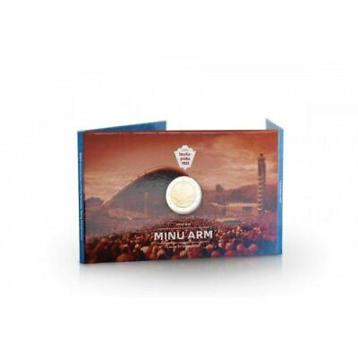 Estonia new coincard 2019 2 euro 150th anniversary of the first song festival