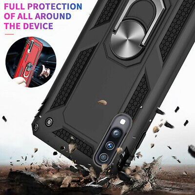 Military Armor Case for Samsung GalaxyA50 A30 A40 A70 Magnetic Ring Holder Cover