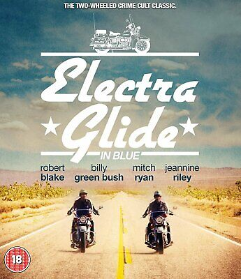 Electra Glide in Blue (Blu-ray) Robert Blake, Billy Green Bush, Mitchell Ryan
