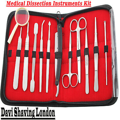 Prof.Medical Surgical Anatomy Dissecting Instruments Kit Surgical & lab Supplies