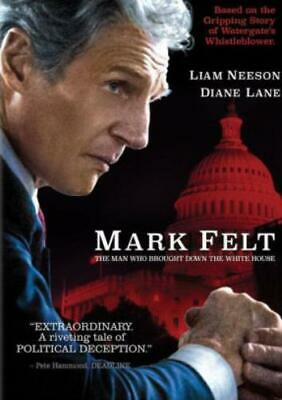 MARK FELT: MAN WHO BROUGHT DOWN THE WHITE HOUSE (Region 1 DVD,US Import,sealed.)