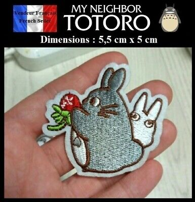 Écusson Brodé Thermocollant NEUF ( Patch Embroidered ) - Manga Totoro ( Ref 3 )