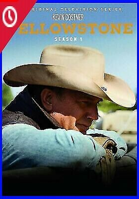 HOT Yellowstone TV Series Complete First-1st Season 1 One   4-DISC DVD SET