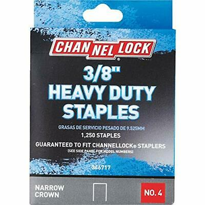 Channellock No. 4 Heavy-Duty Narrow Crown Staple Pack of 5