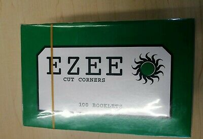 eZee Green Cigarette Rolling Papers x 100 Booklets