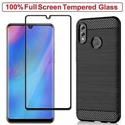 Honor 20 Lite Case Armor Cover + Tempered Glass Screen Film For Honor 20 Lite