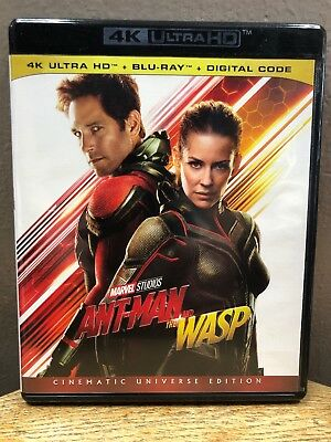 Marvel Ant-Man and the Wasp (4K Ultra HD + Blu Ray, 2018) Paul Rudd