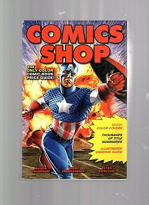 2010 Comic Shop Comic Book Price Guide Book-Illustrated Grading Guide-880 Pages