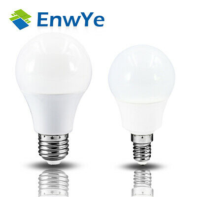 E27 E14 LED Lamp Bulbs 20W 18W 15W 12W 9W 6W 3W Cool Day Warm Light Solid