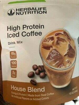 Herbalife High Protein Iced Coffee-House Blend