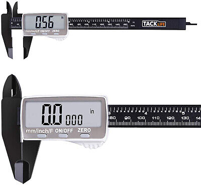 Digital Caliper 6 Inch With Larger LCD Display, Inch Fractions Millimeter For -