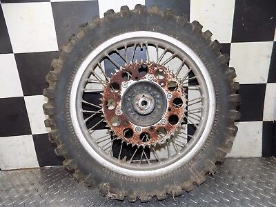 85 1985 xr600r xr600 xr 600 r REAR wheel rim hub disk rotor sprocket