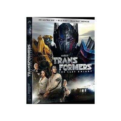 Transformers 5 : the last knight   Blu-ray 4K