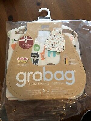 Grobag 6-18m - Alphabets Travel