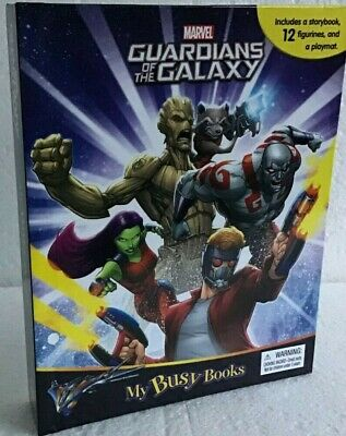 Guardians Of The Galaxy - My Busy Books - (FL)