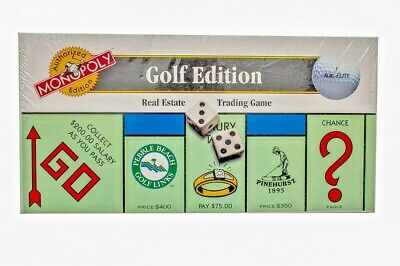 MONOPOLY GOLF EDITION Board Game Parker Brothers New Golfer