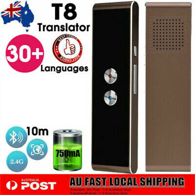 Portable T8 Smart 30+ Language Translator Real-time Intelligent Voice Device HOT