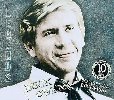 CD Bakersfield Buckeroo by Buck Owens 2009 American Legends Tin NEW