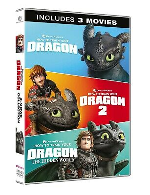 1394240 Dragon Trainer Collection 1-3 (3 Dvd) - How To Train Your Dragon 3 (DVD)