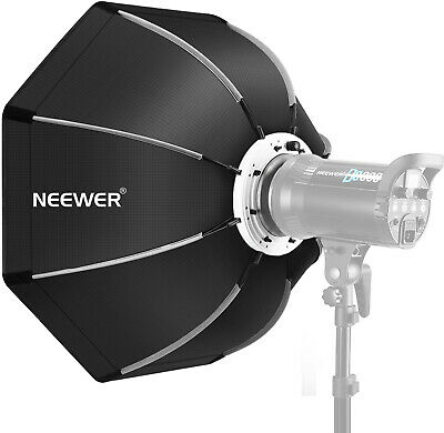 Neewer 26 inches/65 Centimeters Foldable Octagonal Softbox with Bowens Mount