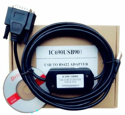 IC690USB901 Programming Cable USB for GE90 Series GE Fanuc SNP PLC 90/30 90/70