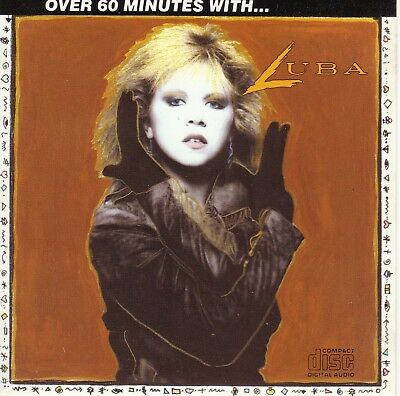 LUBA Over 60 Minutes With NM 1987 Capitol Canada rare Praxis press Daniel Lanois