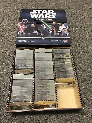 Star Wars: The Card Game Complete Collection (with many Promos)