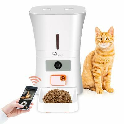 Skymee Feeder Automatic for Cats and Dogs Programmable with Wifi HD Camera
