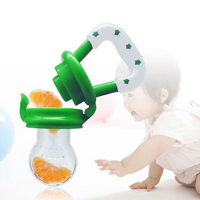 Baby Dummy Pacifier Fresh Fruit Food Feeder Feeding Nibbles Weaning Teething Pro
