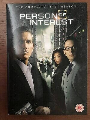 Person of Interest - Series 1 - Complete (DVD, 2013, 5-Disc Set) Watched Once