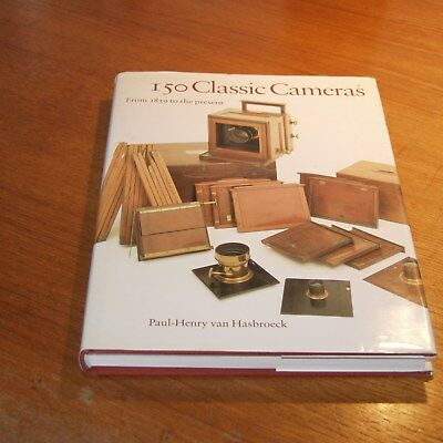 150 Classic Cameras from 1839 to the present Sotheby's book by HASBROECK SIGNED