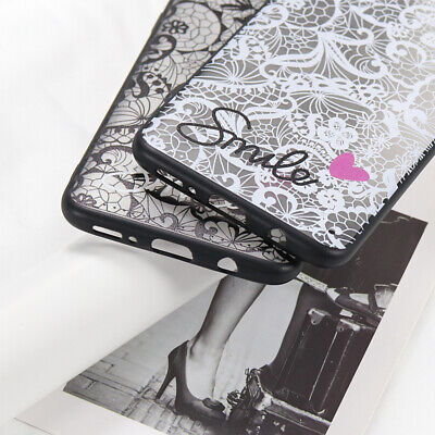 Sexy Retro Lace Case For Samsung Galaxy S10 S8 S9 A30 A50 A20 A10 M10 M20 Cover