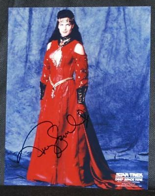 Terry Farrell STAR TREK DEEP SPACE NINE AUTOGRAPH