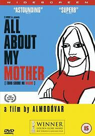 All About My Mother DVD (2000) Cecilia Roth Almodovar Very Good Free Post