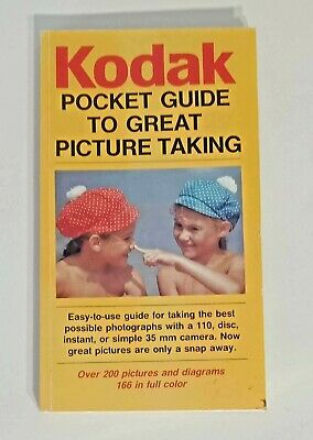 Vintage Kodak Pocket Guide to Great Picture Taking, Pocket Guide Classic 1984