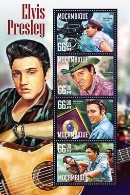 Mozambique 2016 Sheet Mnh Elvis Presley 3