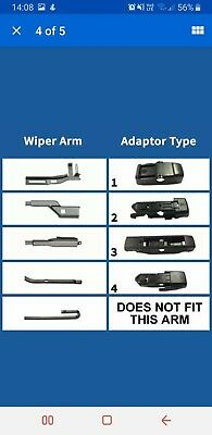 Bosch Aerotwin Plus Multiclip Flat Blade Front Window Wiper Blade 340mm AP13U