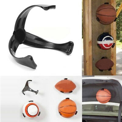 Ee_ Ball Holder Claw Wall Mount Rack Display For Football Basketball Soccer Stri