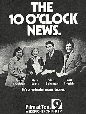 1963 WTEN TV NEWS AD~STAN NELSON~WEATHERMAN in ALBANY,NEW YORK~EARLY