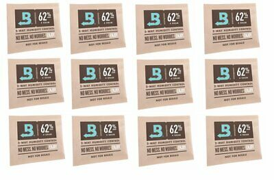 Boveda RH 62% 2 Way Humidity Control Micro 4 Gram - 12 pack